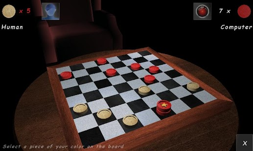Checkers Lounge 3D- screenshot thumbnail