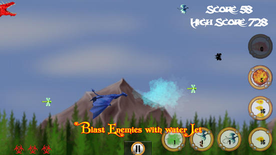 Flappy Cave Dragons - Revenge