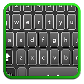 BLACK LIME SMART KEYBOARD skin