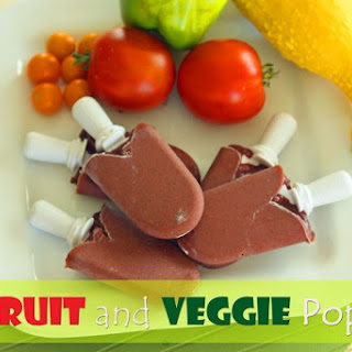 Fruit and Veggie Pops.