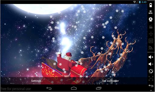 Christmas Cool LiveWallpaper