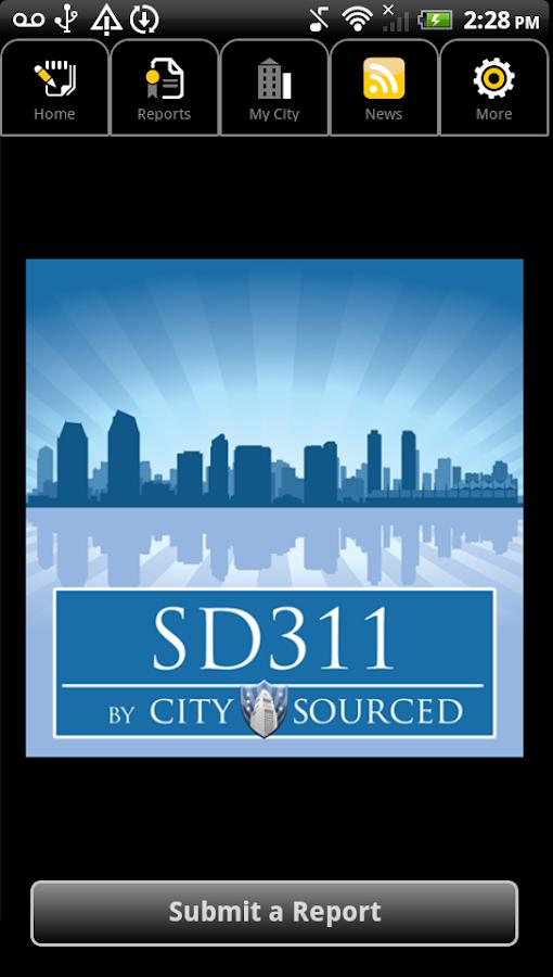 SD311 by CitySourced- screenshot