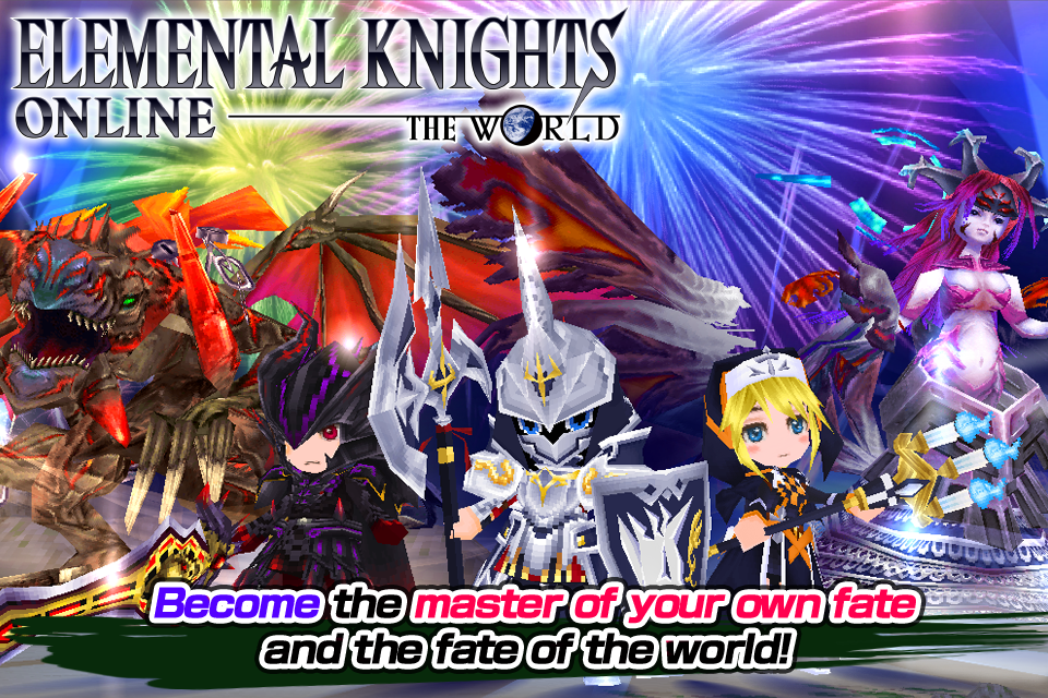 Elemental Knights Online RED - screenshot