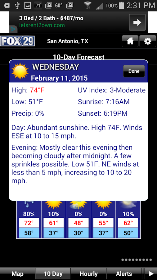 KABB WX - screenshot