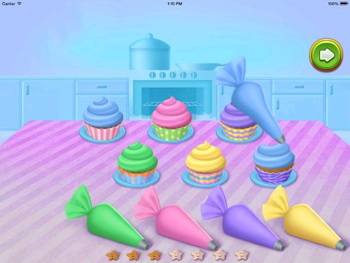 Cupcake - Kids Cooking Games