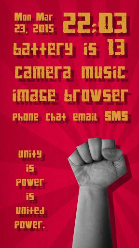 Power Theme for SSLauncher Ori