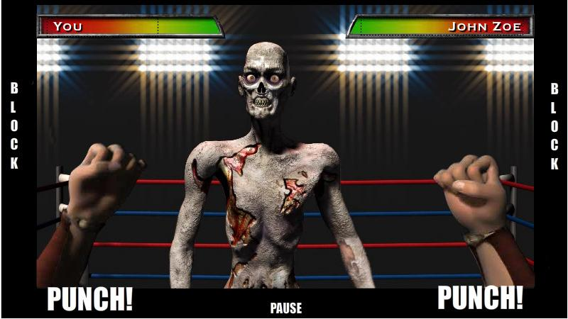 Zombie Boxing- screenshot