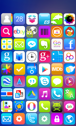 Flat Color Icon Pack
