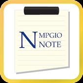 MPGIO NOTE
