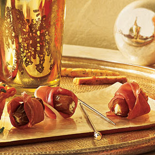 Prosciutto-Wrapped Stuffed Dates