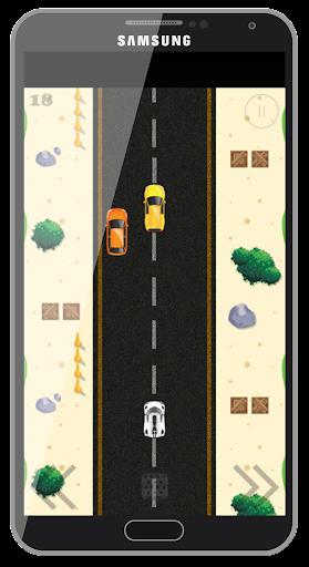 Highway street traffic racing