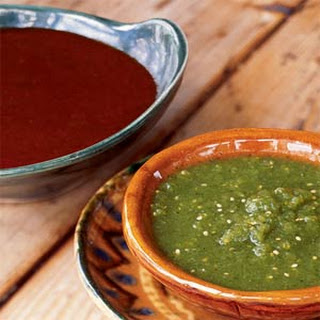 New Mexican Red Chile Sauce.