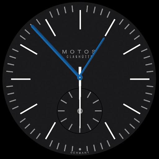Motos Black Facepak for Wear