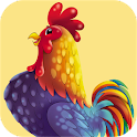 Rooster Sounds and Ringtone icon