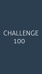 Challenge 100- screenshot thumbnail