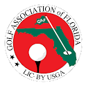 GAF Golf logo