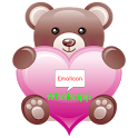 Whatsapp Valentine Emoticons icon