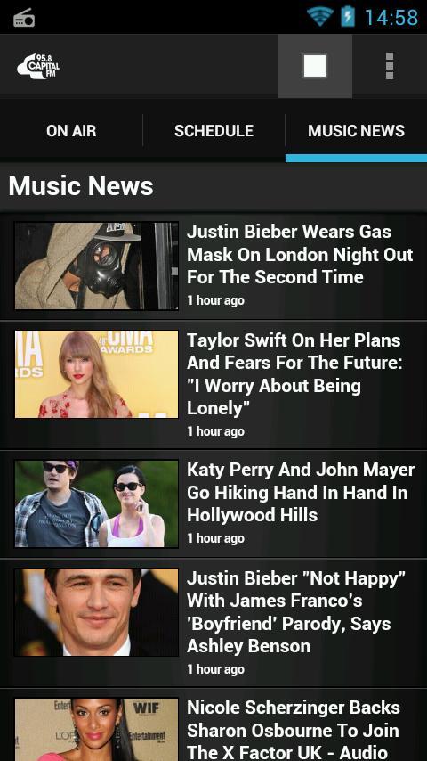 Capital FM Radio App - screenshot