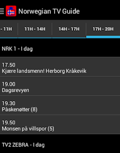 Norwegian TV Guide- screenshot thumbnail