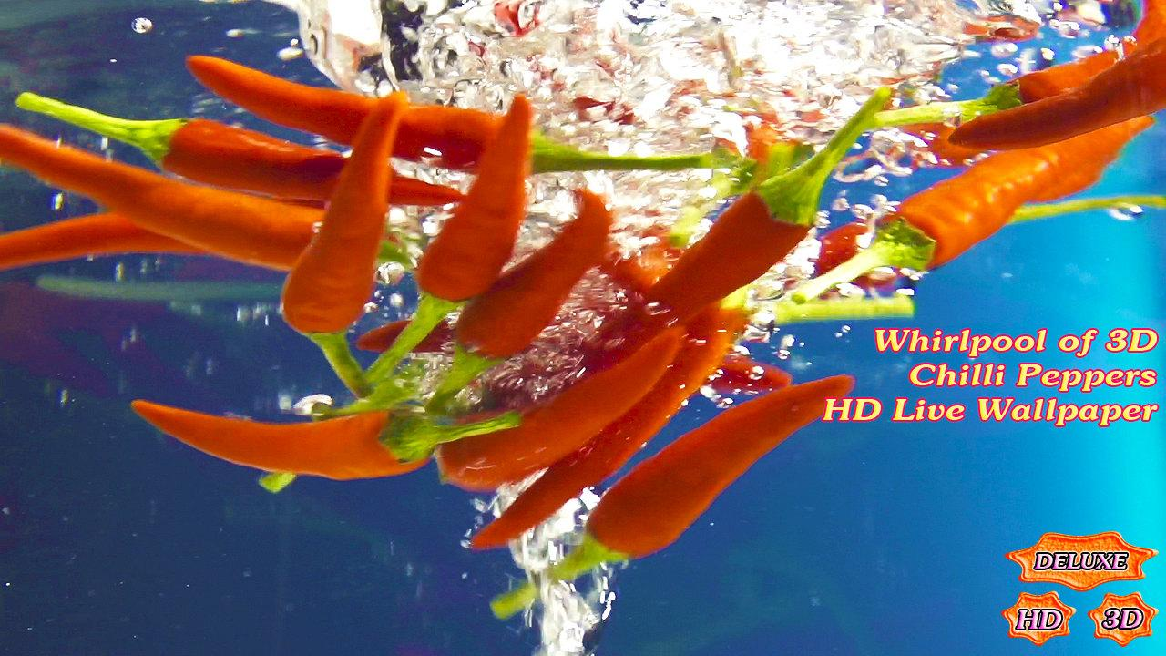 Whirlpool of Chilli Peppers 3D- screenshot