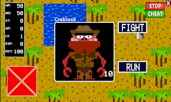 Screenshot of 8-Bit RPG Creator
