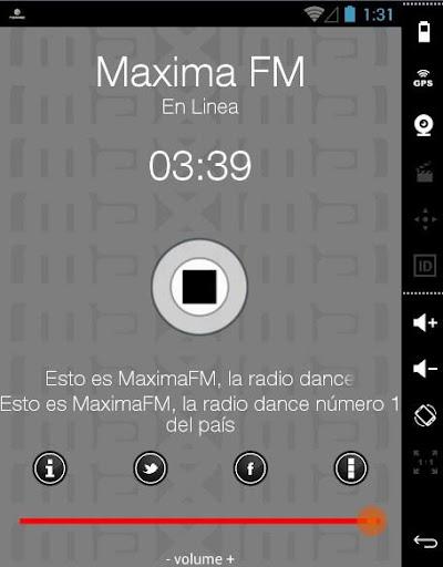 MAXIMA FM RADIO DANCE