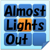 Puzzle game Almost Lights Out