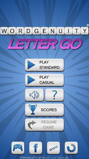 Wordgenuity® Letter Go
