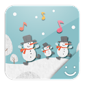 HAPPY SNOWMANS Theme icon