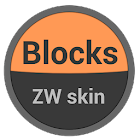 Blocks Zooper Skin icon