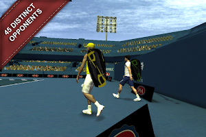 Screenshot of Cross Court Tennis 2