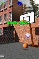 Screenshot of 3D Basketball Shootout