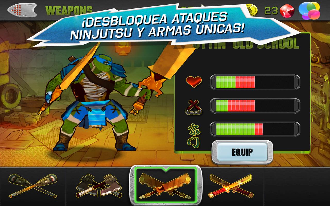 Tortugas Ninja  Aplicaciones Android en Google Play