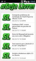 Screenshot of Blog Seja Livre