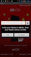 Screenshot of AdKoin Beta