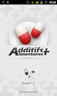 Additifs Alimentaires +- screenshot thumbnail