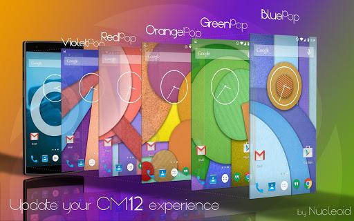 CM12 Blue Pop Theme
