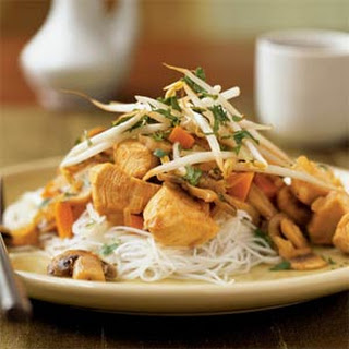 Thai-Style Stir-Fried Chicken.