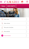 Screenshot of Camaïeu – Shopping femme