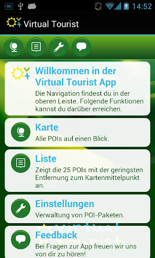 Virtual Tourist WoMo App