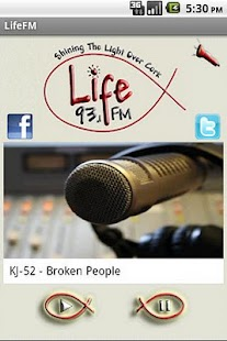 93.1 LifeFm Cork - screenshot thumbnail