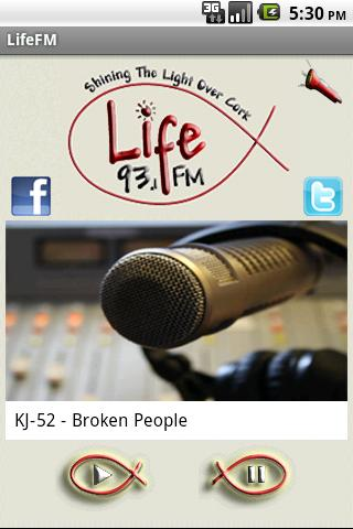 93.1 LifeFm Cork - screenshot