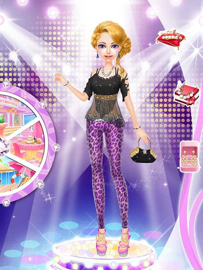 Fashion Salon Stage Girl Game Android Apps On Google Play - Barbie hairstyle design game