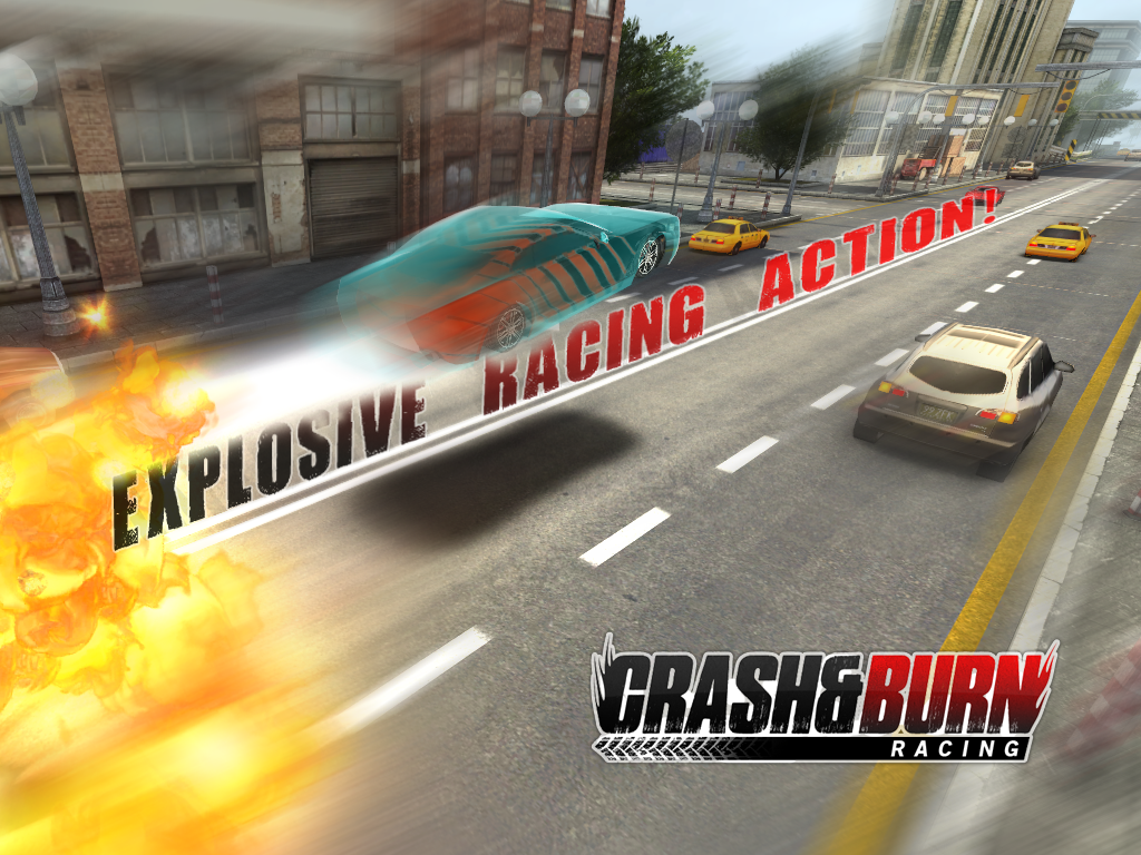 Crash and Burn Racing- screenshot
