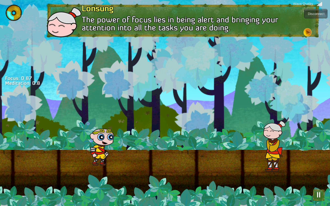 Zip and the Misty Mountain- screenshot