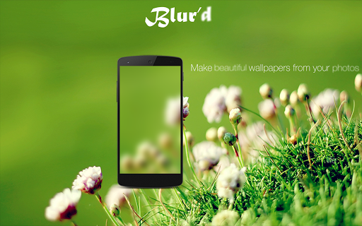 Blur'd: Blur Effect Wallpaper