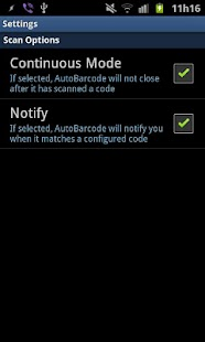 AutoBarcode- screenshot thumbnail