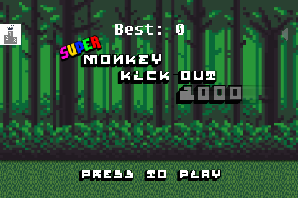 Super Monkey Kick-Out 2000- screenshot
