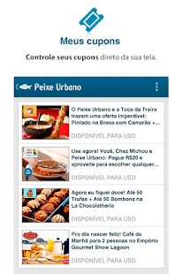 Peixe Urbano - screenshot thumbnail