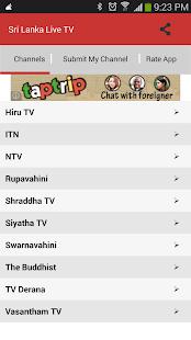 Sri Lanka Live TV